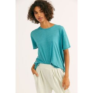 We The Free Clarity Ringer NWT Turquoise